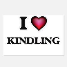 I Love Kindling Postcards (Package of 8)
