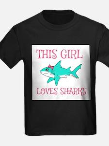 Shark Girl T-Shirt