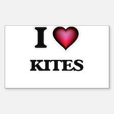 I Love Kites Decal