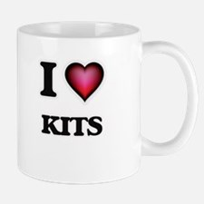 I Love Kits Mugs