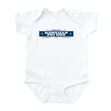 HAWAIIAN POI DOG Infant Bodysuit