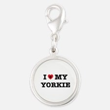 I Heart My Yorkie Charms