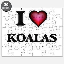 I Love Koalas Puzzle