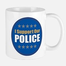 Support Police Mugs