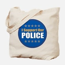 Support Police Tote Bag