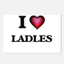 I Love Ladles Postcards (Package of 8)