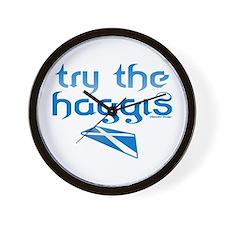 SCO Try Haggis Scotland(Alba) Wall Clock