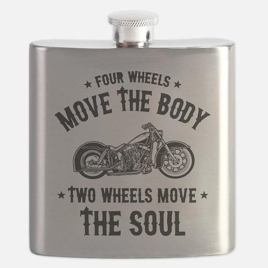 2 Wheels Move 1016 Flask