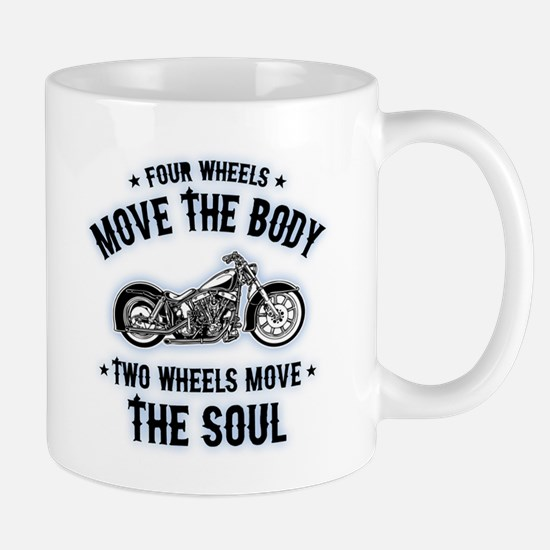 2 Wheels Move 1016 Mug
