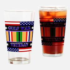 Gulf War Veteran Drinking Glass