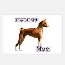 Basenji Mom4 Postcards (Package of 8)