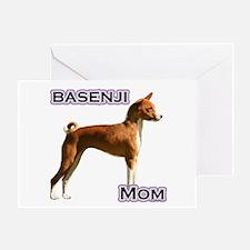 Basenji Mom4 Greeting Card