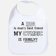 Cymric Cat Is My Family Bib