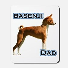 Basenji Dad4 Mousepad