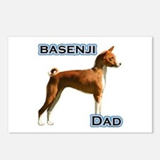 Basenji Dad4 Postcards (Package of 8)