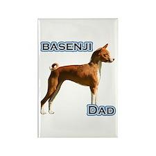 Basenji Dad4 Rectangle Magnet (10 pack)