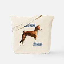 Basenji Dad4 Tote Bag