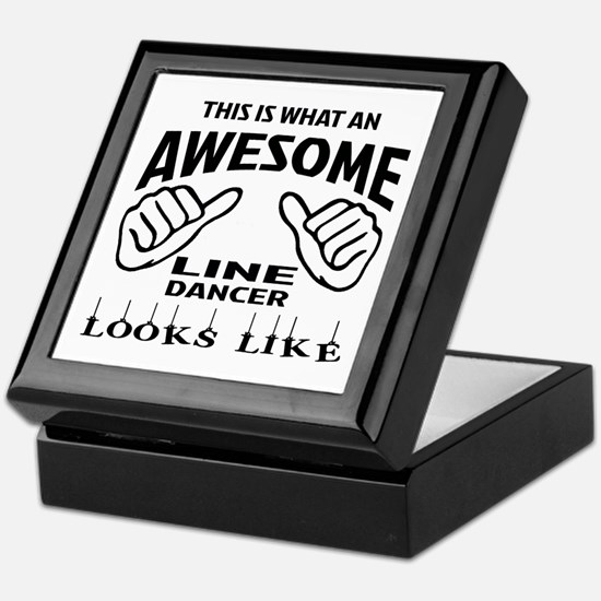 This is what an awesome Line dancer l Keepsake Box