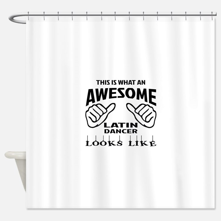 This is what an awesome Latin dance Shower Curtain