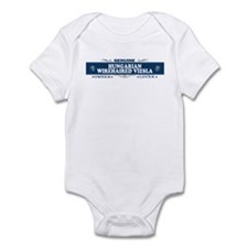 HUNGARIAN WIREHAIRED VIZSLA Infant Bodysuit