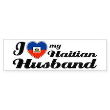 I love my Haitian Husband Bumper Bumper Bumper Sticker