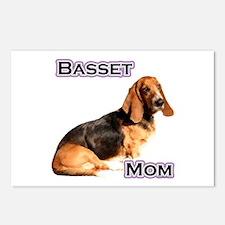 Basset Mom4 Postcards (Package of 8)