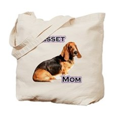 Basset Mom4 Tote Bag