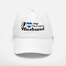 I love my Nicaraguan Husband Baseball Baseball Cap