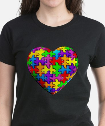 Jelly Puzzle Heart Tee