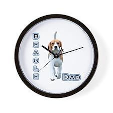Beagle Dad4 Wall Clock