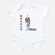 Beagle Mom4 Infant Bodysuit