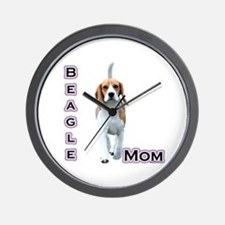 Beagle Mom4 Wall Clock