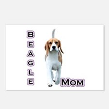 Beagle Mom4 Postcards (Package of 8)