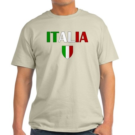 Italia Logo Light T-Shirt
