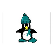 Winter Penguin 1 (OC) Postcards (Package of 8)