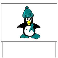 Winter Penguin 1 (OC) Yard Sign