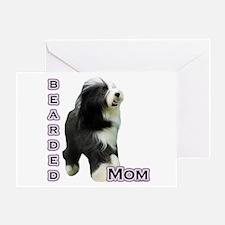 Bearded Mom4 Greeting Card
