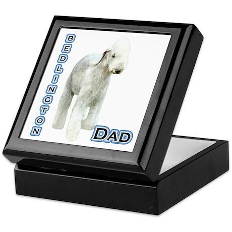 Bedlington Dad4 Keepsake Box