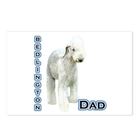 Bedlington Dad4 Postcards (Package of 8)