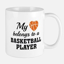 Heart Belongs Basketball Mug