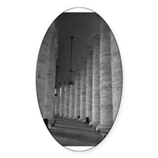 Vatican Oval Decal