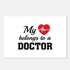 Heart Belongs Doctor Postcards (Package of 8)