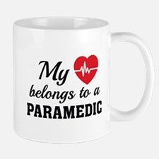 Heart Belongs Paramedic Mug