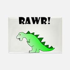 RAWR! Rectangle Magnet