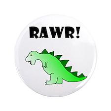 """RAWR! 3.5"""" Button (100 pack)"""