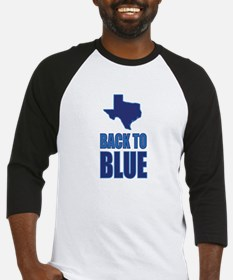 Texas Back to Blue Baseball Jersey