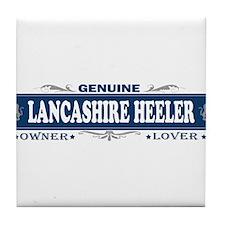 LANCASHIRE HEELER Tile Coaster