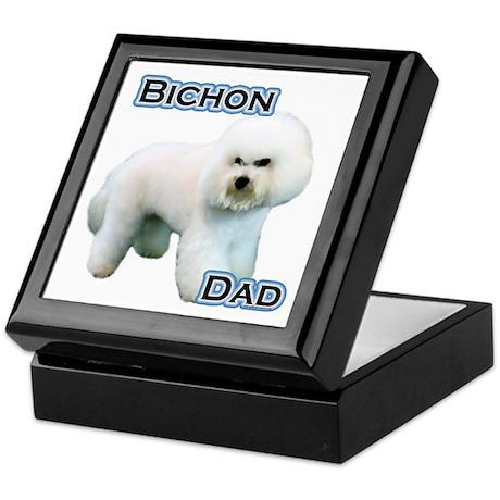 Bichon Dad4 Keepsake Box