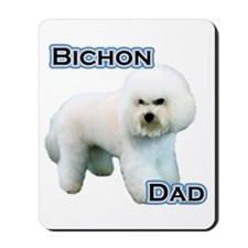Bichon Dad4 Mousepad