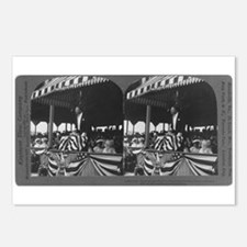 Teddy Roosevelt Stereograph Postcards (Package of